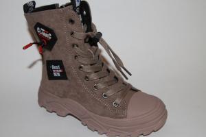 Фото Демисезонная обувь, Демисезонная обувь девочки до 38 Ботинки 2923 коричневый