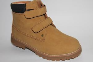 Фото Демисезонная обувь, Демисезонная обувь девочки до 38 Ботинки В163-52D желтый