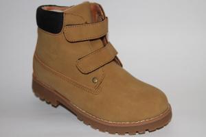 Фото Демисезонная обувь, Демисезонная обувь девочки до 38 Ботинки В163-52С желтый
