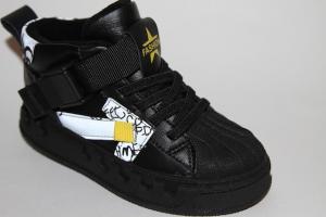 Фото Демисезонная обувь, Демисезонная обувь девочки до 32 Ботинки 53-3785-2 черный