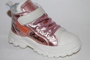 Фото Демисезонная обувь, Демисезонная обувь девочки до 32 Ботинки 1912 розовый