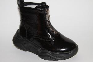Фото Демисезонная обувь, Демисезонная обувь девочки до 32 Ботинки JDD016-1 черный