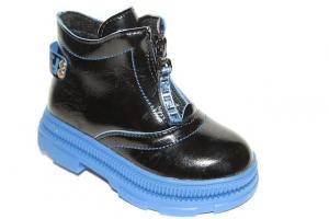 Фото Демисезонная обувь, Демисезонная обувь девочки до 32 Ботинки 19-9В синий