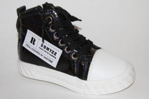 Фото Демисезонная обувь, Демисезонная обувь девочки до 32 Ботинки ХТА-361 черный