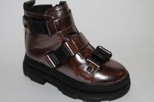 Фото Демисезонная обувь, Демисезонная обувь девочки до 32 Ботинки Z507 серый