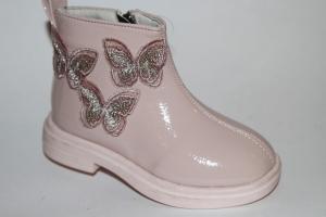 Фото Демисезонная обувь, Демисезонная обувь девочки до 32 Ботинки 201 розовый