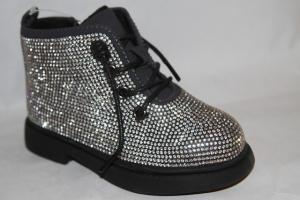 Фото Демисезонная обувь, Демисезонная обувь девочки до 32 Ботинки 3-2 серый