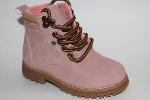 Фото Демисезонная обувь, Демисезонная обувь девочки до 32 Ботинки В163-31В розовый