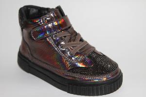 Фото Демисезонная обувь, Демисезонная обувь девочки до 32 Ботинки 30882В gun