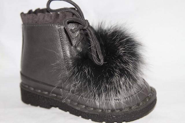 Ботинки DK-7799В серый
