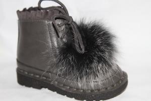 Фото Демисезонная обувь, Демисезонная обувь девочки до 32 Ботинки DK-7799В серый