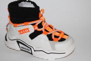 Фото Демисезонная обувь, Ботинки мальчики до 32 Ботинки LH581 бежевый