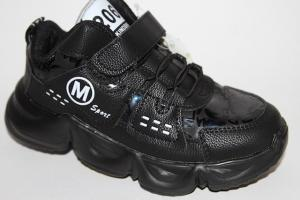 Фото Демисезонная обувь, Ботинки мальчики до 38 Ботинки J29-3 черный