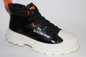 Фото Демисезонная обувь, Ботинки мальчики до 38 Ботинки NK19507А черный