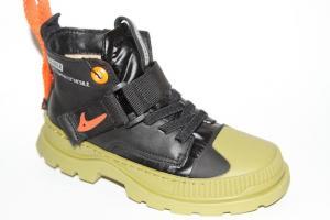 Фото Демисезонная обувь, Ботинки мальчики до 38 Ботинки LN19508А черный