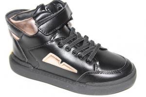Фото Демисезонная обувь, Ботинки мальчики до 38 Ботинки DQ191-123С черный