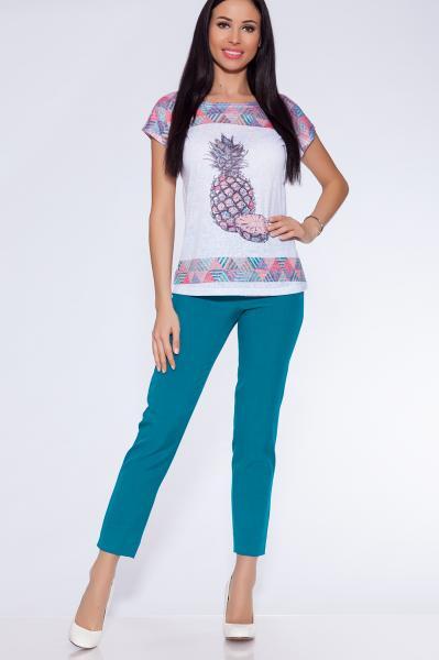 брюки (Цвет: бирюзовый) 4403-790