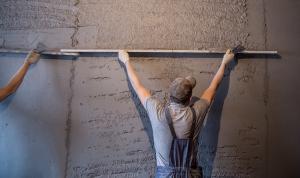 Фото Виды Работы, ШТУКАТУРНЫЕ РАБОТЫ Штукатурка стен (по маякам)