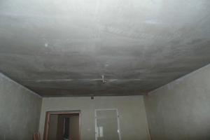 Фото Виды Работы, ШТУКАТУРНЫЕ РАБОТЫ Потолки (по плоскости)