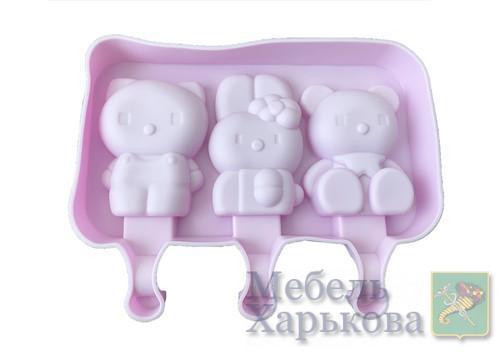Силиконовая форма для мороженого и десертов Детская - Матрасы и наматрасники в Харькове