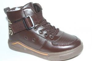 Фото Демисезонная обувь, Ботинки мальчики до 38 Ботинки С20-241С синий
