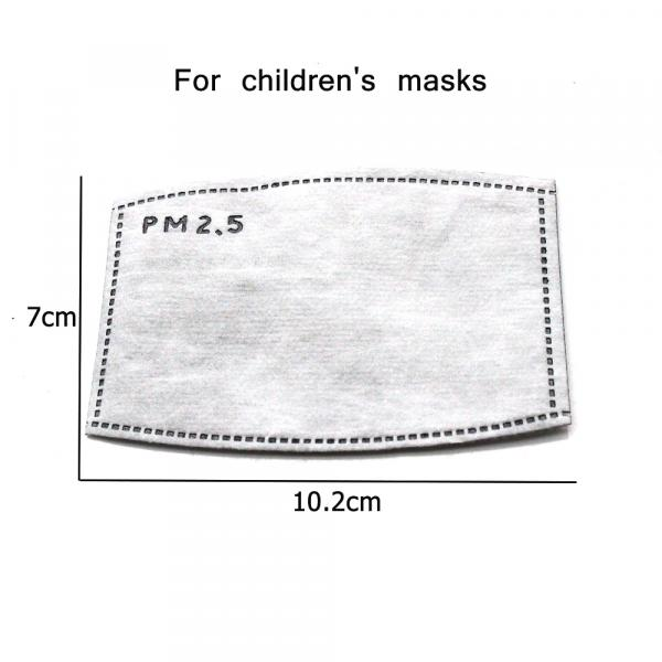 Фото Антисептики. Средства индивидуальной защиты. Маска -респиратор угольный PM 2,5 . Многоразовый.
