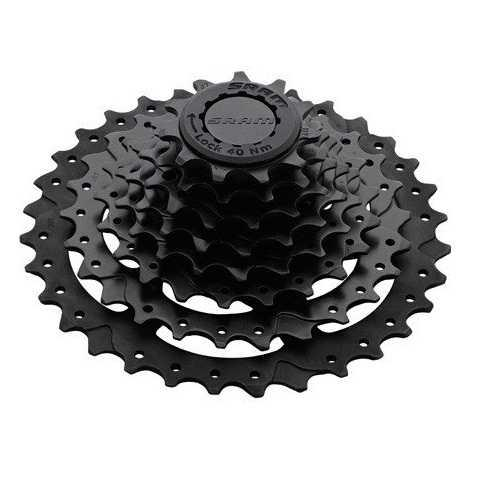 Фото ТРАНСМІСІЯ, Задні зірки Кассета SRAM 09A CS PG-820 11-30 8 SPEED