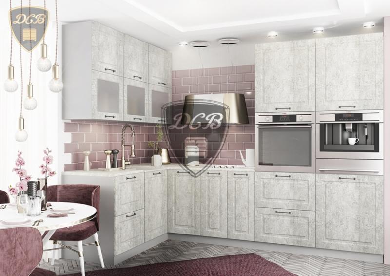 Фото Кухни модульные Кухня Капри камень светлый (ДСВ)