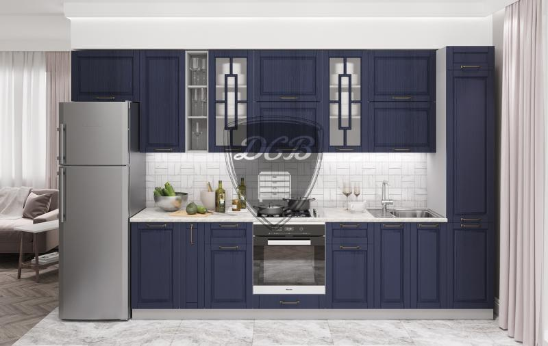 Фото Кухни модульные Кухня Гарда джинс (ДСВ)