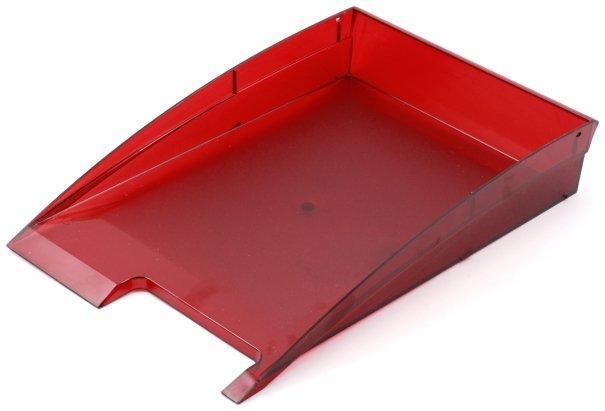 Лоток горизонтальный «Эсир» 350*235*60 мм, прозрачно-рубиновый
