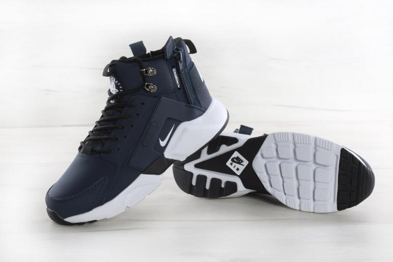 Фото  Nike Huarache X Acronym City MID Leather Blue White (40-45)