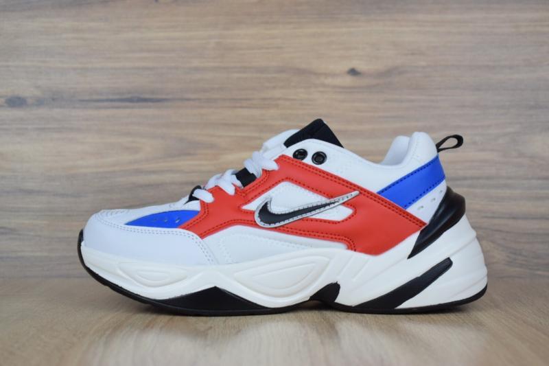 Фото СПОРТИВНАЯ ОБУВЬ, NIKE, Серия M2K Tekno Nike M2K Tekno White Blue Red (36-41)
