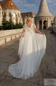 Фото Свадебные платья Свадебное платье для полных с рукавами Шенон