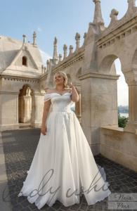 Фото Свадебные платья Пышное свадебное платье для полных Пена