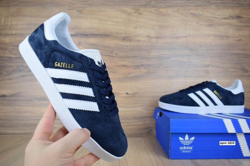 Фото СПОРТИВНАЯ ОБУВЬ Adidas Gazelle Blue (36-46)