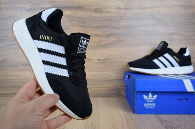 Фото СПОРТИВНАЯ ОБУВЬ Adidas Iniki Black (37-41)