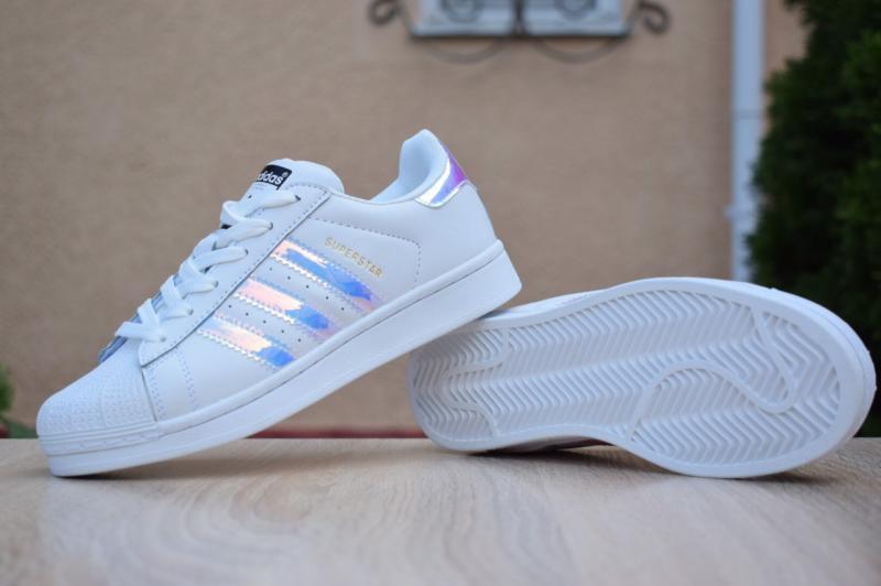 Фото СПОРТИВНАЯ ОБУВЬ, ADIDAS, Superstar Adidas Superstar White Pearl (36-41)