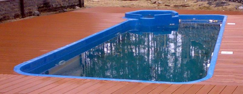 Фото Бассейны, Классические бассейны Композитный бассейн Рио 8.5 х 3.5 х 1-1.6