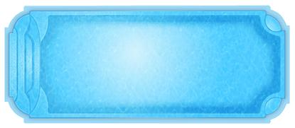 Фото Бассейны, Классические бассейны Композитный бассейн Торренс 10.1 х 4.3 х 1.4-2