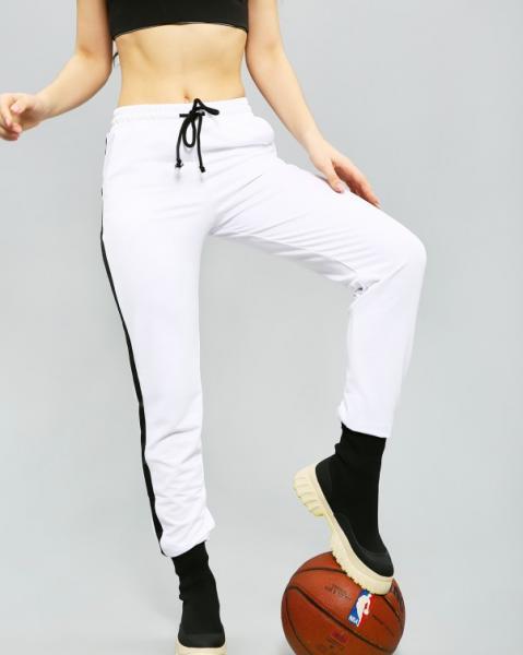 Фото  Спортивные штаны ISSA PLUS 11502  L белый