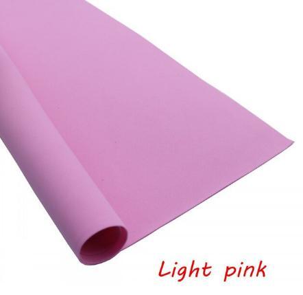 Фото Экокожа  с  глитером ,  и  Фоамиран  гладкий  и  с  глитером ,  Фоамиран Розовый , производитель Корея, толщина 0,9 - 1,1 мм , хорошо поддаётся обработке, лист 50 х 50 см