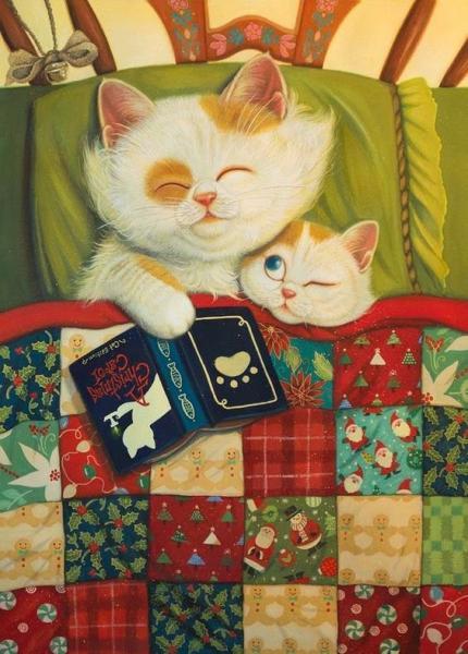 Фото Картины на холсте по номерам, Картины  в пакете (без коробки) 50х40см; 40х40см; 40х30см, Животные, птицы, рыбы KHO 2457