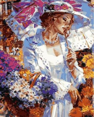 Фото Картины на холсте по номерам, Романтические картины. Люди VP 633