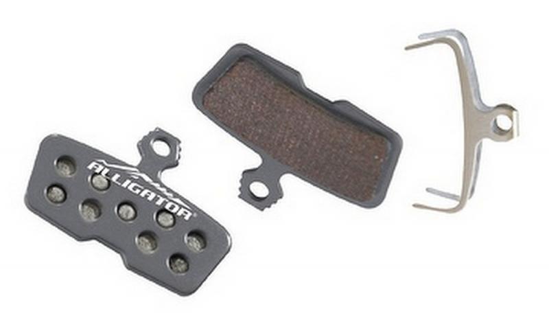 Колодки гальмівні Alligator (HK-BP042) для Avid Code R напівметалічні
