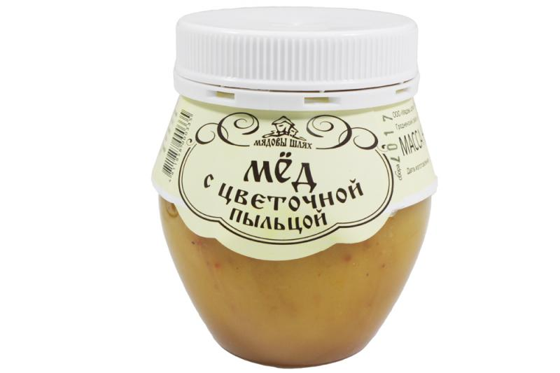Мед натуральный 350 г. с различными дополнительными ингредиентами, см. подробнее