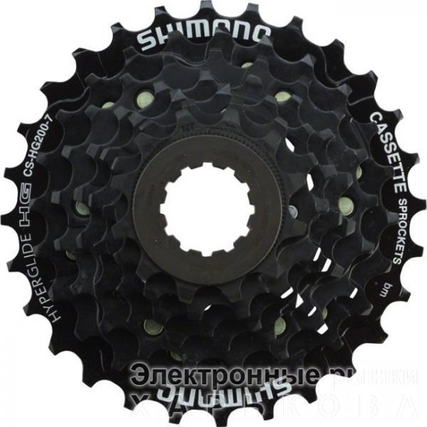 Касета SHIMANO CS-HG200 7-к 12-28Т - Велосипедные кассеты, трещотки на рынке Барабашова
