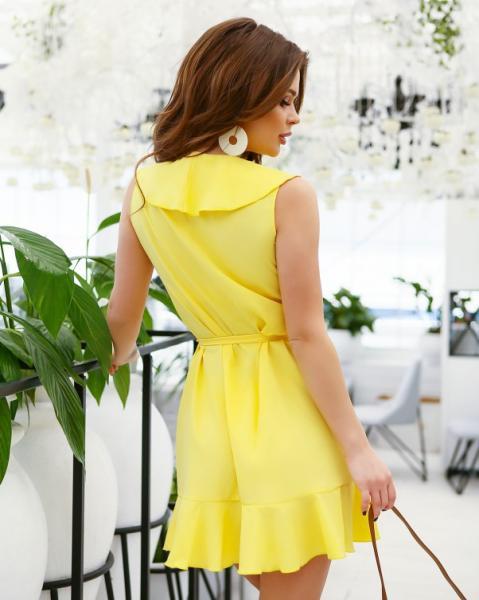Фото  Платья ISSA PLUS 11655  L желтый