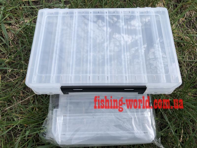 Фото Рыболовные Ящики и Коробки Коробка для воблеров двухсторонняя 30*20*5см