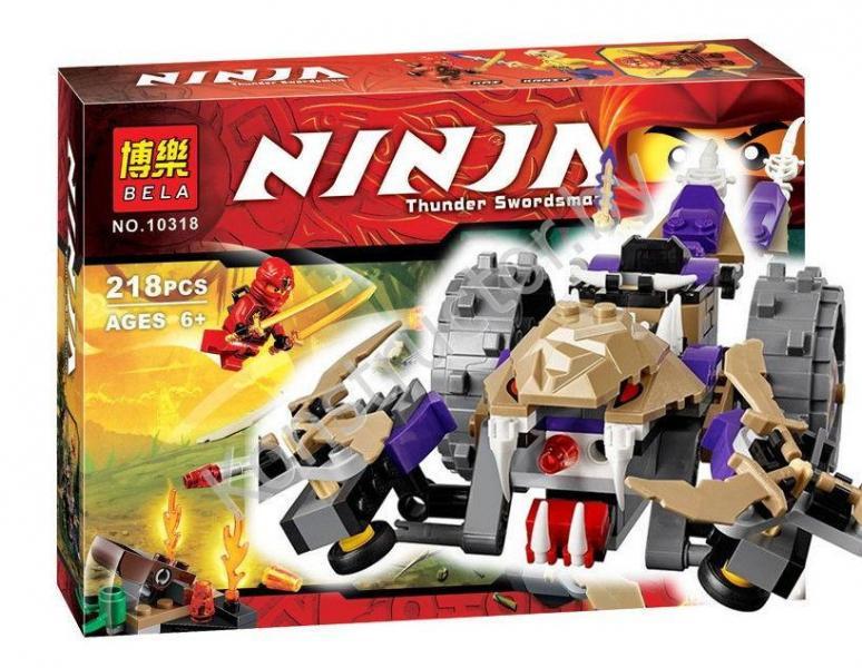 Фото Конструкторы, Конструкторы типа «Лего», Ниндзя Го (Ninja Go) 10318 Bela Конструктор (аналог Lego Ninjago 70745)