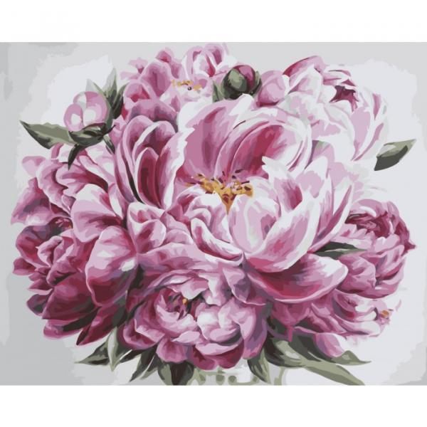 Фото Картины на холсте по номерам, Букеты, Цветы, Натюрморты KH 2077